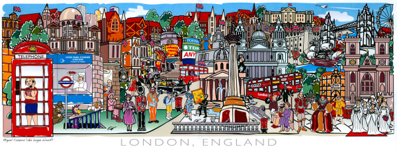 London Dream by Miguel Campos
