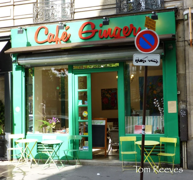 Cafe Ginger, a Parisian vegan restaurant