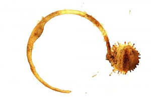 another coffee stain