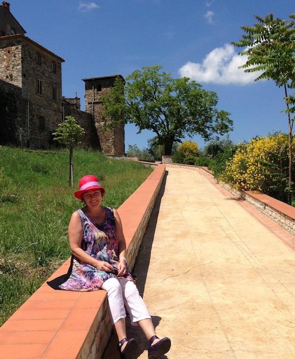 Fiona McArthur in Tuscany