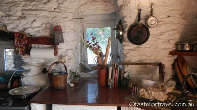 Sandra's Greek island kitchen