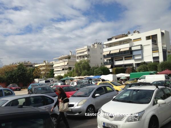 Market day in Glyfada