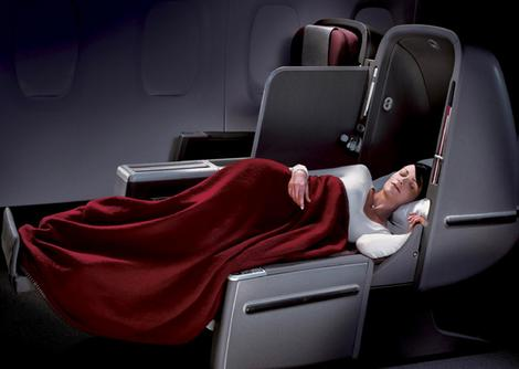 Best and worst airline seats QantasA380 Business Class