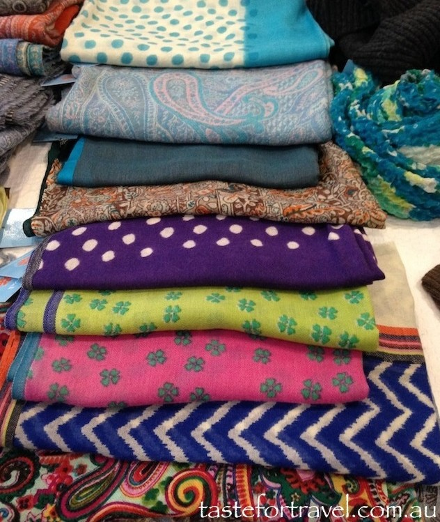 Scarves and wraps at Haveli