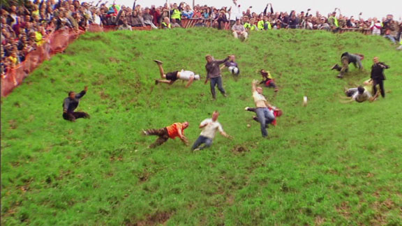 Cheese rolling, World's Weirdest Food Festivals