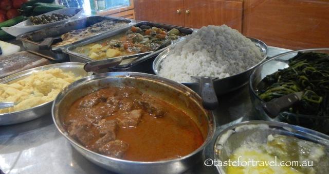 Food at To Kati Allo restaurant
