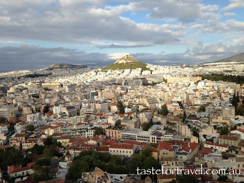 Athens towards Lycabettos