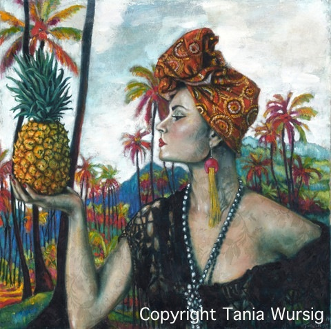 Nikita Margarita and the Pineapple by Tania Wursig