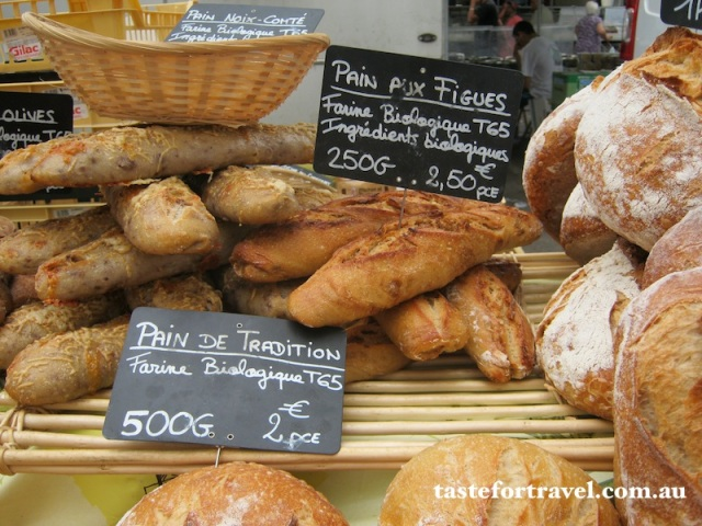 Organic and traditionally made French bread