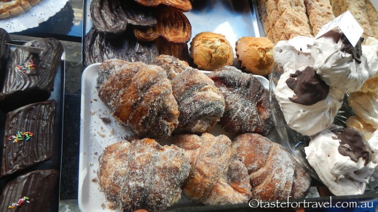 Pastries and doughnuts at Pastisseria Ideal
