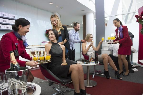 Virgin Hat Valet Lounge