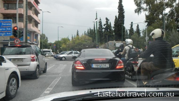 Athens traffic 1
