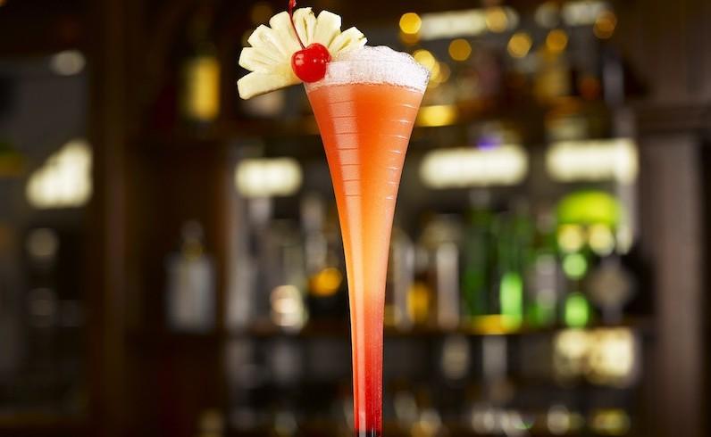 Singapore Sling cocktail Raffles