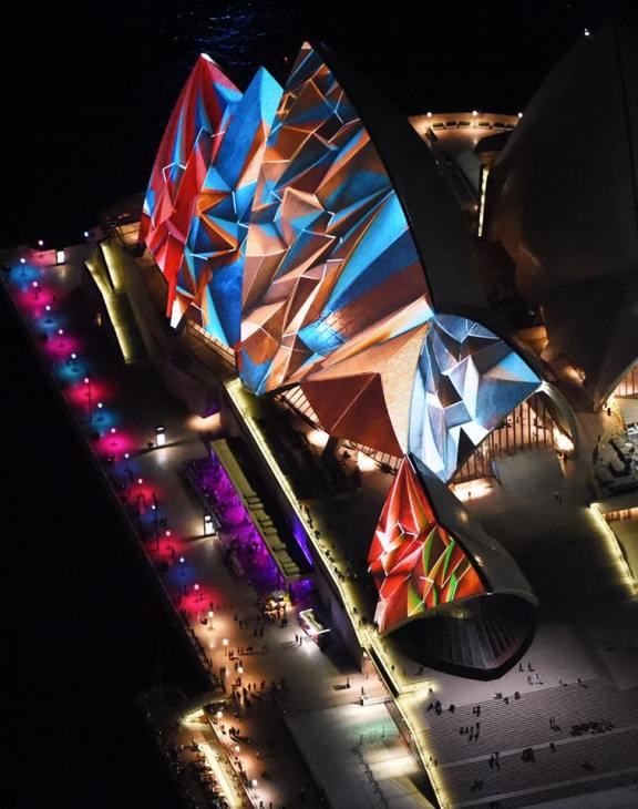 Vivid Sydney lights up the mighty Opera House