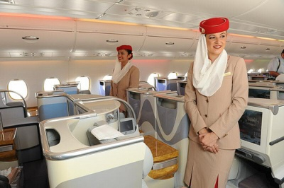 Best and worst airline seats - Emirates