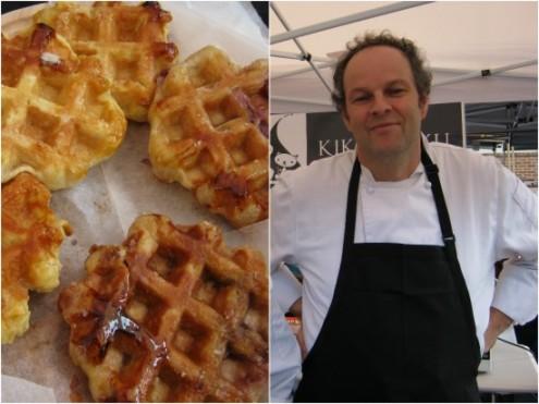 Belgian waffles by Kiki&Kuku; chocolatier Marc Pierard