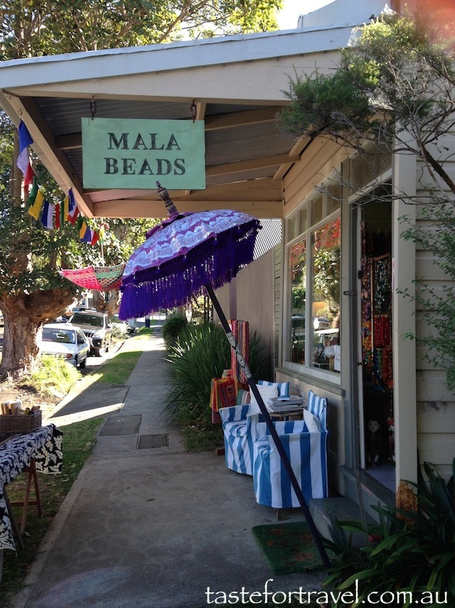 Exterior of Mala Beads Austinmer