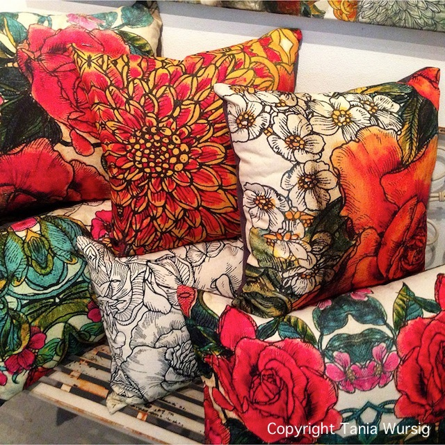 Tania Wursig's Hero Cushions