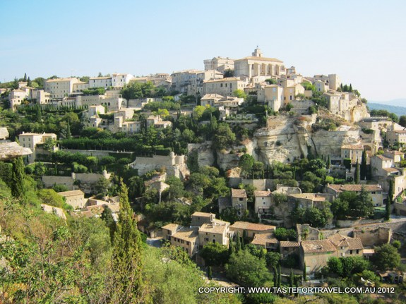 Gordes in Provence, by Taste for Travel