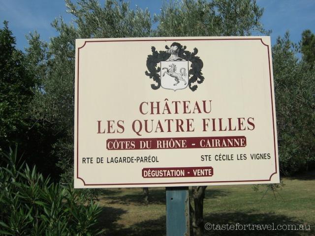 Chateau Les Quatre Filles