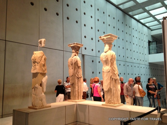 3 ladies of the Parthenon, Taste for Travel-001